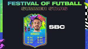 FIFA 21 FoF: Leonardo Bonucci via Summer Stars-SBC
