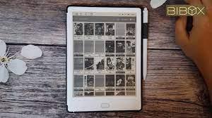 Máy đọc sách Bibox - Đọc truyện tranh với Manga reader trên Likebook