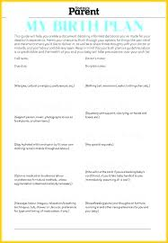 C Section Birth Plan Home Birth Plan Template Awesome Best Good Birth Plan