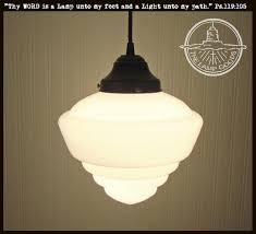 modern milk glass chandelier of pendant lights schoolhouse lighting