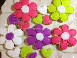 decorated flower sugar cookies. Fine Decorated Flower Sugar Cookies With Decorated E