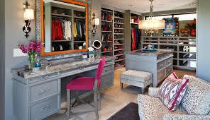 grey walk in closet