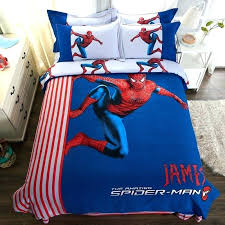 spiderman bed set man bed set fashionable blue color spider man bedding set batman bed set