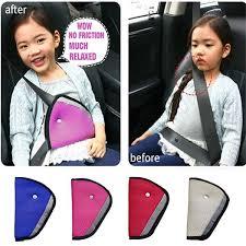 triangle child baby kids car safety seat belt holder air mesh harness adjuster seatbelt strap clip cover f575 safety belts safety seat belts holder