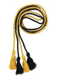 sigma nu greek graduation honor cords