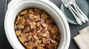 slow cooker reese s peanut er cup swirl cake