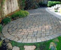 Pavers Impressive Stamped Concrete Patio Vs With Great Concept Ideas