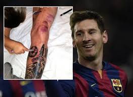 Bullies stained facade of the old building, requires urgent repa. Ilmu Pengetahuan 16 Tattoos Leo Messi