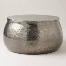 round metal drum coffee table with design hd images voyageofthemeemee