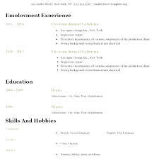 Free Online Resume Templates Open Office Styles Free Online Resume Templates Open Office Chronological Resume 10