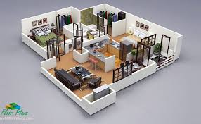 Want to get your house idea visualized in best way by a 3D Floor Plan?