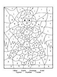 Free Math Coloring Sheets 1st Grade Grade Math Coloring Pages Free