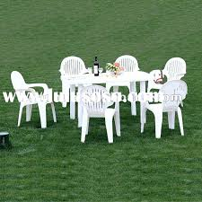 plastic outdoor table with umbrella hole innovative white plastic patio table and chairs and patio plastic