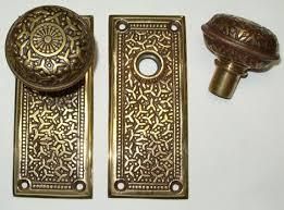 antique looking door knobs. Reproduction Rice Pattern Door Antique Looking Knobs