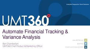 Financial Tracking Automate Financial Tracking And Variance Analysis 051214