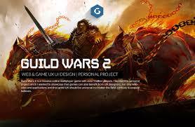 Guild Wars Design Guild Wars 2 Massive Ux Ui Redesign On Behance