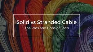 Telephone Cable Gauge Chart Solid Vs Stranded Cable The Pros And Cons Of Each Firefold