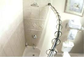 curved shower curtains curved shower curtain rod also long shower curtain rod also shower curtain and