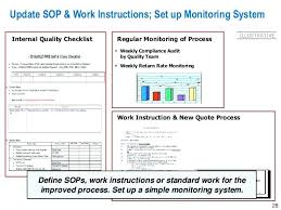Audit Checklist Iso 9001 Sop Template – Shopsapphire