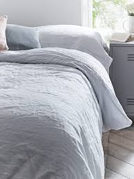 made from beautiful soft washed linen in muted grey tones our for duvet cover prepare 3