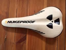 nukeproof plasma logo trail saddle sold