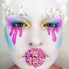 inspired by leigh bower catwalk fashion makeup