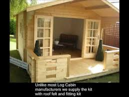 Small Picture How to build a Log Cabin or Summerhouse in your garden YouTube