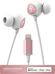 Headphones 7/7 Plus iPad 8/8 Plus MFi Certified Lightning Headphones with  Mic and Volume Remote iPhone 8 Earphones in Ear Wired Noise Isolation Apple  Earbuds Compatible for iPhone Xs Max/XR/XS/X iPod Electronics
