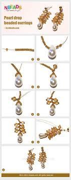 simple diy pearl drop dangle