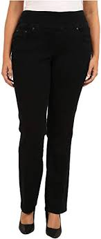 Miraclebody Jeans Size Chart Miraclebody Jeans Plus Size Pull On Jegging Indigo Free