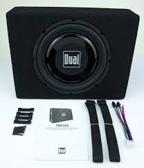 Digital Design 10 Inch Subs Dual Electronics Tbx10a 10 Inch High Performance Powered Subwoofer And Box