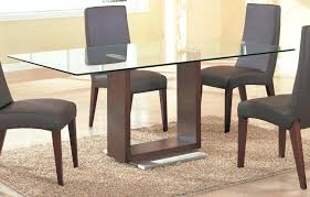 dining table set 4 glass