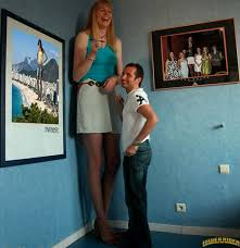 Super tall girl small guy porn