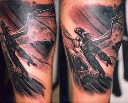 Galerie Tetování Tetování Na Lýtku Lytko 0005