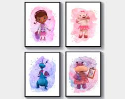 home décor items doc mcstuffins kids