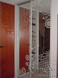 sliding doors with printed image