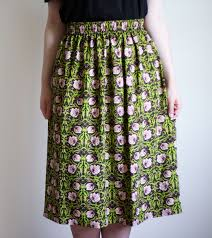 Simple Skirt Pattern With Elastic Waist Magnificent Decorating Design