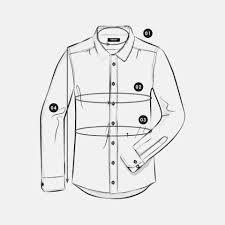 Shirt Size Chart Seidensticker Onlineshop