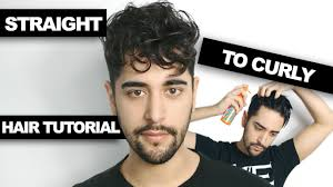 Great Clips Hairstyles For Men Straight To Curly Hair How To Get Curly Hair Mens Hair