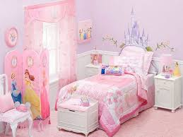 Bedroom Girls Room Decor With Disney Princess Mural The Themed Ideas Trends  Theme Toddler Desk In