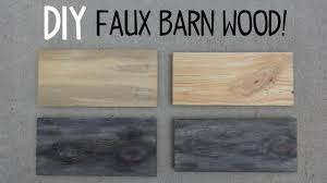 Paint Wash On Wood Diy Faux Barn Wood Paint Trick Youtube