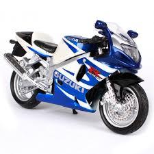 maisto 1 18 suzuki gsx r750 motorcycle bike diecast model toy new