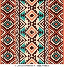 Navajo Pattern Best Ethnic Ornament Seamless Navajo Pattern Vector Illustration
