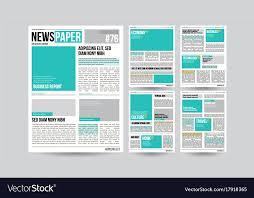 Newspaper Articles Template Newspaper Template Financial Articles
