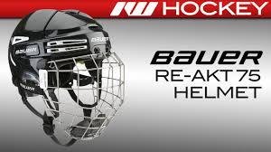 Bauer Re Akt 75 Size Chart Bauer Re Akt 75 Helmet Review