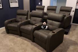 home theater furniture. Furniture:Movie Theater Style Seating Movies With Recliners Leather Home Furniture Comfortable