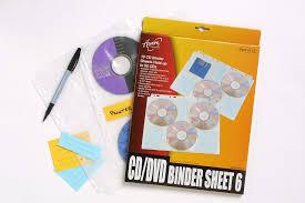 Labeling Binders Cumberland Cd6bs10 Aurora Cd Binder Sheet Index Labels Holds 6 Pk10
