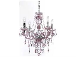 af lighting naples pink four light 21 5 wide mini chandelier