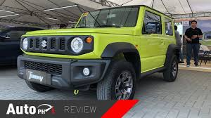 2019 suzuki jimny exterior interior review test drive philippines