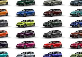 Volkswagen 40 Custom Colors Available For 2019 Golf R